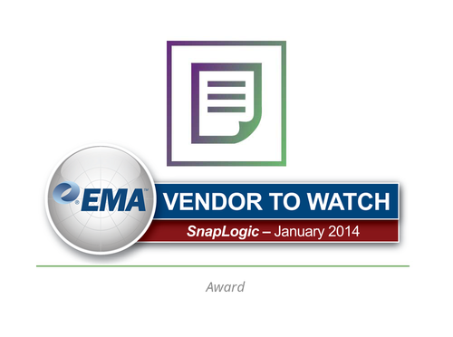 EMA Vendor to Watch: SnapLogic