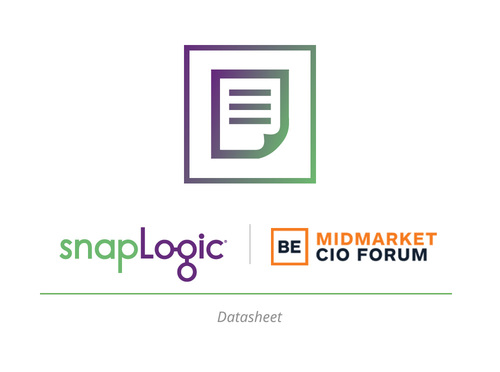 Datasheet: SnapLogic for CIOs