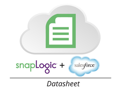 Datasheet: SnapLogic for Salesforce