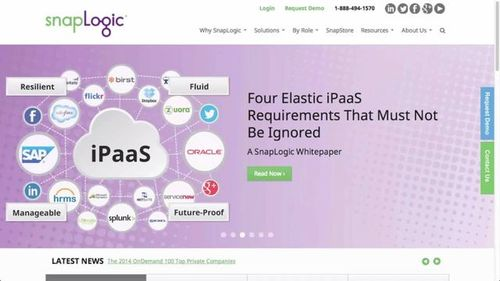 The SnapLogic Elastic iPaaS in Action