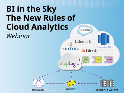 The New Rules of Cloud Analytics