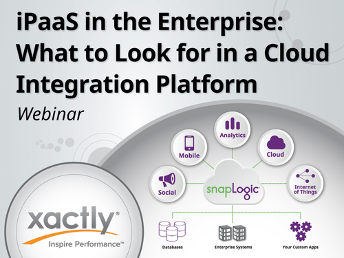iPaaS in the Enterprise: What to Look for in a Cloud Integration Platform