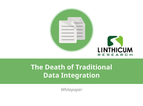 The Death of Traditional Data Integration