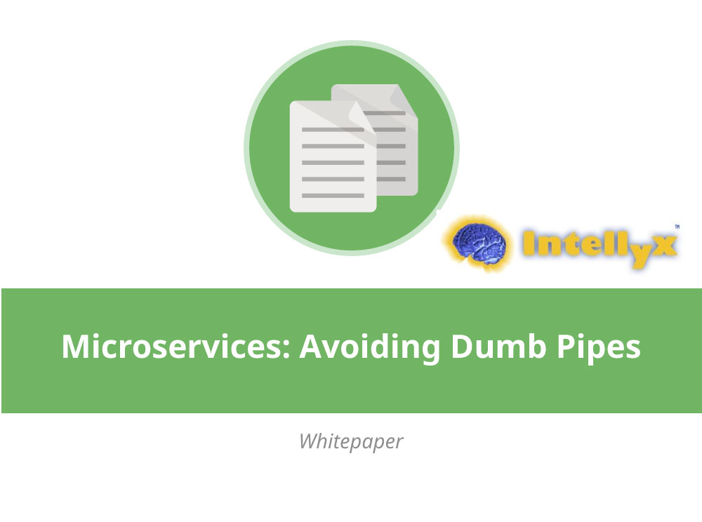Microservices: Avoiding Dumb Pipes