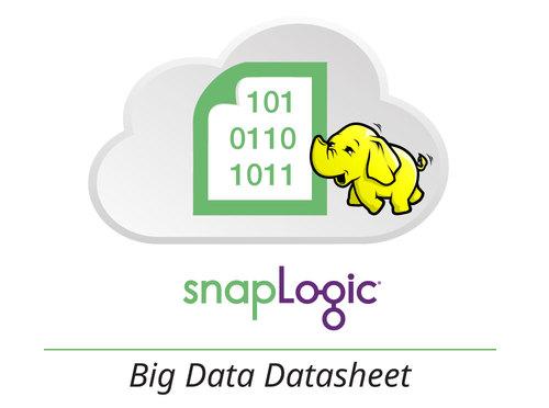 Datasheet: SnapLogic for Big Data Integration