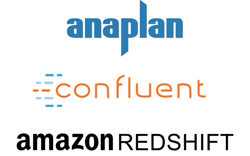 New Enhancements to Confluent, RedShift, and Anaplan