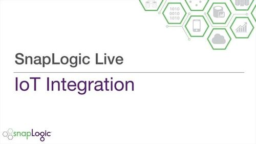 SnapLogic Live – Internet of Things