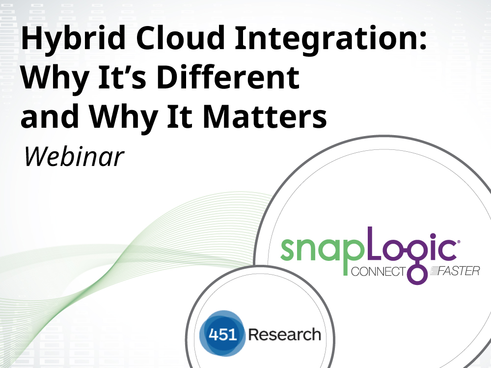 Hybrid Cloud Integration: Why It's Different and Why It Matters