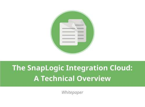 The SnapLogic Integration Cloud