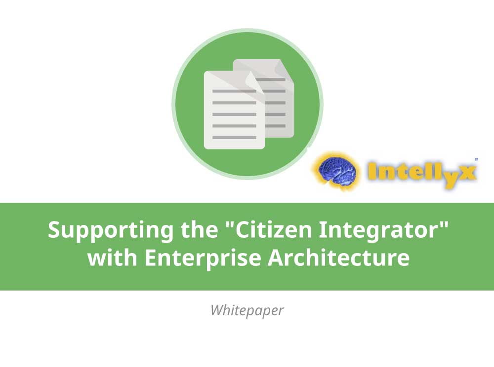 Supporting the 'Citizen Integrator' with Enterprise Architecture